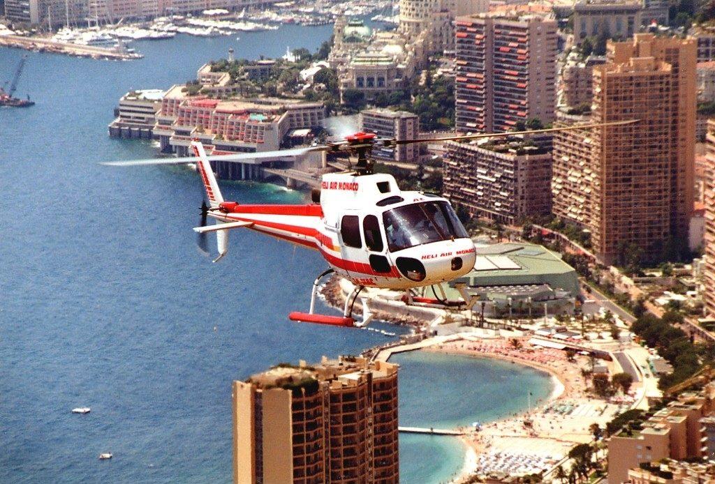 вертолетный маршрут Ницца — Монако