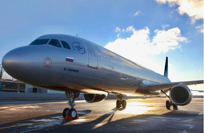 Авиакомпания «Аэрофлот» в январе 2017 получила «Airbus А320»