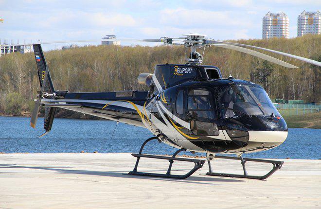 «Хелипорт Истра» теперь обслуживает и вертолеты «AS-350/B2»